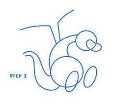 draw cartoon dragon 5 steps