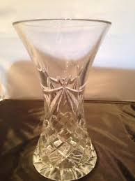 Antique Lead Crystal Vase Beautiful Vintage Lead Crystal Vase Ebay