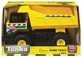 minecraft dump truck tonka classics mighty dump truck toyworld