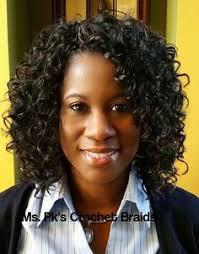 crochet braids atlanta ga crochet braids this lovely client is wearing gogo curl 1b by
