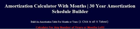 Mortgage Calculator Amortization Table by This Amortization Calculator Will Instantly Build An Amortization