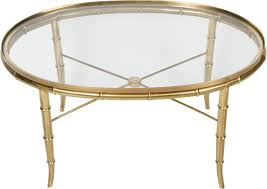 vintage glass coffee table gold bamboo glass coffee table rascalartsnyc