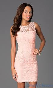 graduation dresses scoop neck lace dress dq 8767