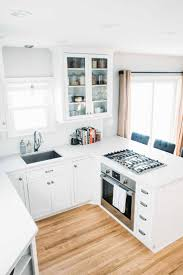 All White Kitchen Ideas Kitchen Simple Way To Remodel Small Kitchen Wooden Floors
