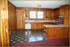 white oak wood orange zest lasalle door knotty pine kitchen
