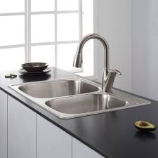 Best Kitchen Faucets Kitchen Design Wonderful White Kitchen Sink Corner Double Sink