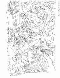 free doctor who coloring pages kids coloring