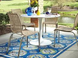 Large Outdoor Rugs Outdoor Rug Astonishing Blue Geometric Outdoor Rug For Patio