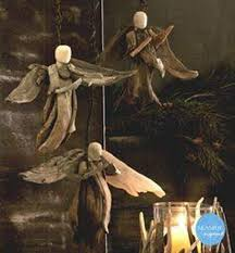 roost driftwood angels set of 3 driftwood angel and tree toppers