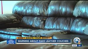 Fake Leather Sofa by Warning About Fake Leather Couches Youtube