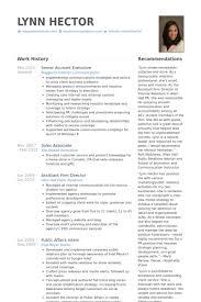 account executive resume resume account executive best resume gallery