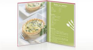 creer un livre de recette de cuisine créer un livre de cuisine personnalisé coin de la maison