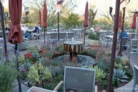 Desert Botanical Garden Restaurant Gertrude S Restaurant Paradise For The And The Palate