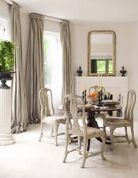 Window Treatments For Dining Rooms Dining Room Mesmerizing All White Dining Room Ideas In Natural