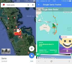 santa map maps santa tracker goes live on ios mac rumors