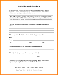 medical records release cover letter of form colorado samples 3