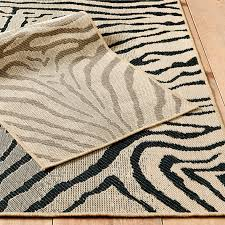 Ballard Outdoor Rugs Mali Zebra Outdoor Rug Ballard Designs