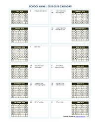 calendar 2018 2019 u0026 academic calendar templates