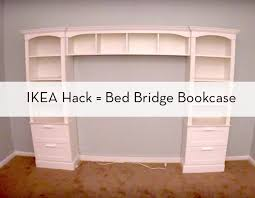 How To Build A Large Bookcase Ikea Hack Bookshelf Desk Good Idea For Mounting A