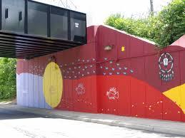 sunwall moonwall mural designs sunwall photographed looking south