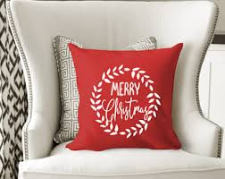 Decorative Christmas Pillows Throws by Christmas Pillow Etsy