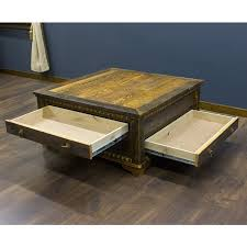 Unique Glass Coffee Tables - reclaimed wood square coffee table unique glass coffee table for