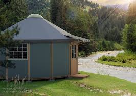 Micro Home by Freedom Yurt Cabin Small Prefab Home Small Home For Sale