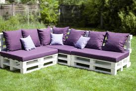 Purple Patio Cushions by Patio Furniture Made From Pallets White Seating Cushion Diy