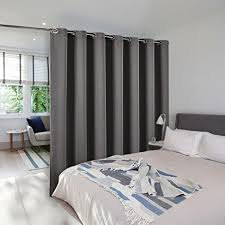 Insulated Patio Curtains Amazon Com Room Divider Curtain Screen Partitions Nicetown