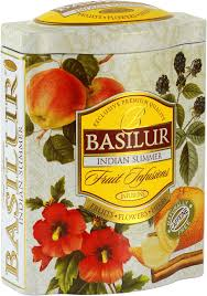 fruit and flowers basilur fruit infusions indian summer herbal tea fruits and