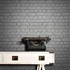 rasch wallpaper rasch brick wallpaper grey decorating diy