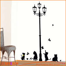 new arrival cat wall sticker lamp and butterflies stickers decor new arrival cat wall sticker lamp and butterflies stickers decor decals for walls vinyl removable decal wall murals vinyl wall art stickers vinyl wall