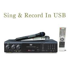 midi karaoke dvd player with recorder usb card reader dvp 10