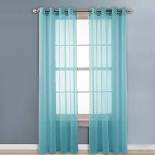 Sheer Teal Curtains Sheer Teal Curtains
