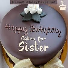 happy birthday cakes sister