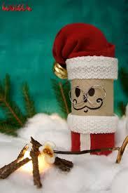 santa claus paper tube winter wonder land winter wonder santa