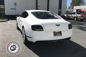 white bentley sedan satin white bentley vehicle wrap wrap bullys