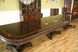 extra large american made traditional mahogany dining table