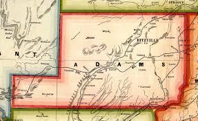 County Map Washington by Washington Adams County Every County