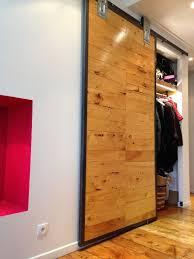 porte coulissante sur mesure porte coulissante sur mesure bois metal architecture intérieure