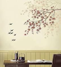 10 songbirds wall stencils reusable easy diy home decor wall
