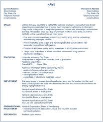 career change resume functional resume for career change resumedoc