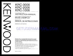 kenwood dealer kenwood audio krc 1006 owner u0027s manual download free