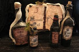 halloween spell book u0026 potion bottle set mermaid