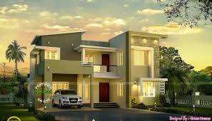 Modern Looking Houses Beautiful Looking Contemporary Mix Houses Plans Home Design