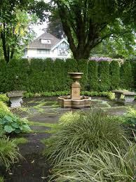 Backyard Privacy Trees Garden Design Garden Design With Landscaping Ideas For Privacy