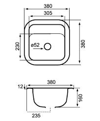 Kitchen Sink Dimensions - prepossessing 10 average size of kitchen sink design decoration