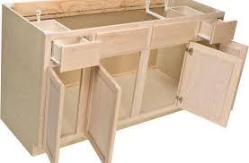 unfinished blind base cabinet enchanting blind corner base kitchen cabinet 42 unfinished oak