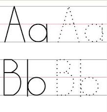 free worksheets tracing letter for preschool free math