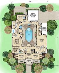 luxury house plans with pools best 25 pool house plans ideas on guest house plans
